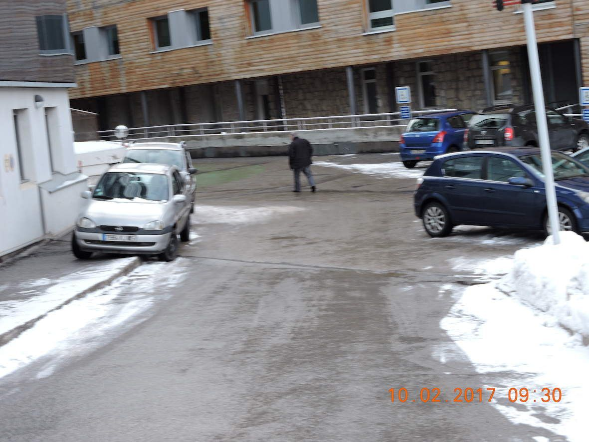 Hôpital Briançon, l'environnement de la &quot&#x3B;honte&quot&#x3B;.