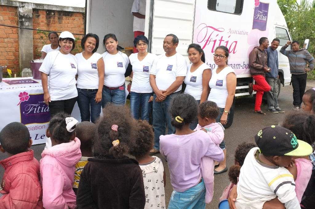 L'association FITIA au secours des sinistrés 2015 -PHOTOS-