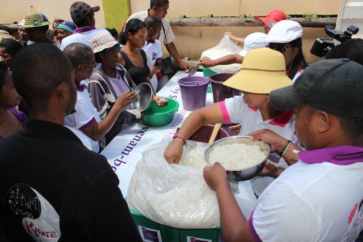 L'association FITIA à Anosipatrana, 11.03.2015 -PHOTOS-