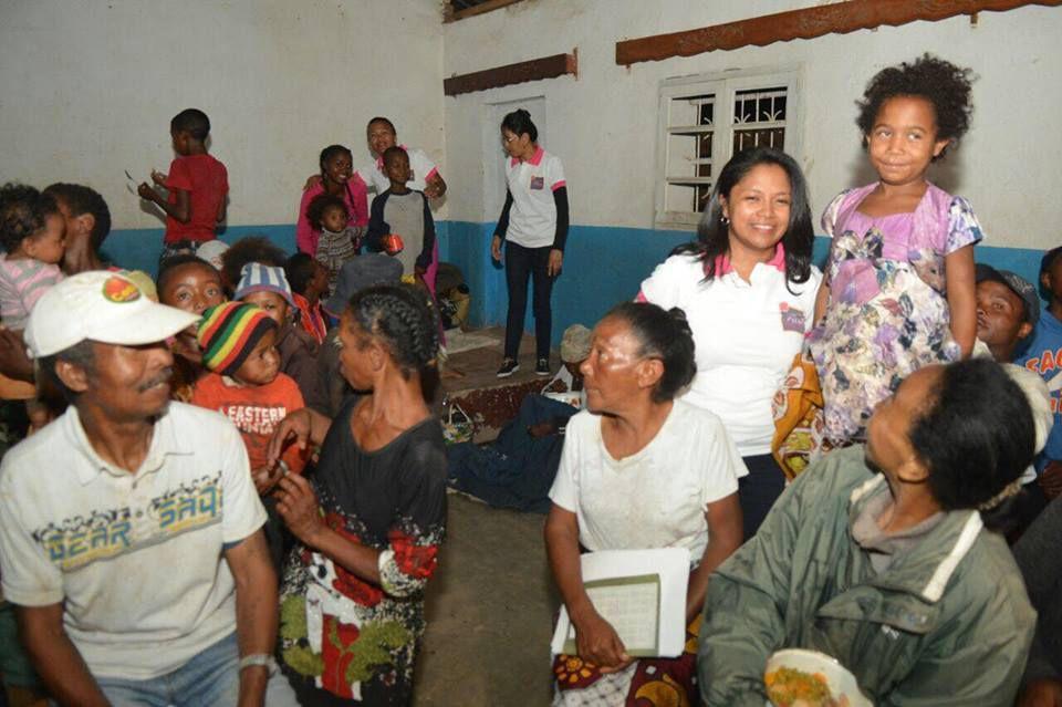 Cyclone Enawo. Association Fitia: soutien2 aux sinistrés d'Ankorondrano Nord, 11 mars 2017
