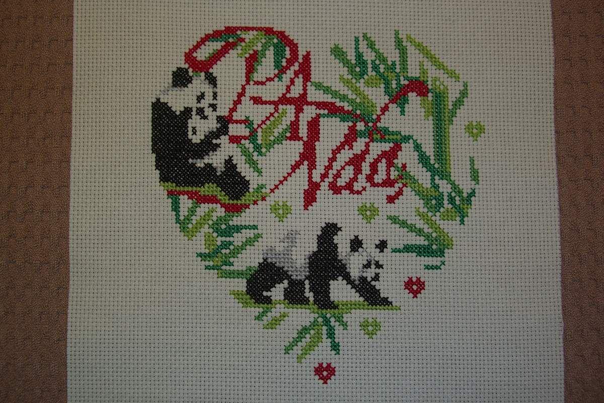 Coeur Panda (Isabelle Vautier) - Mes AV