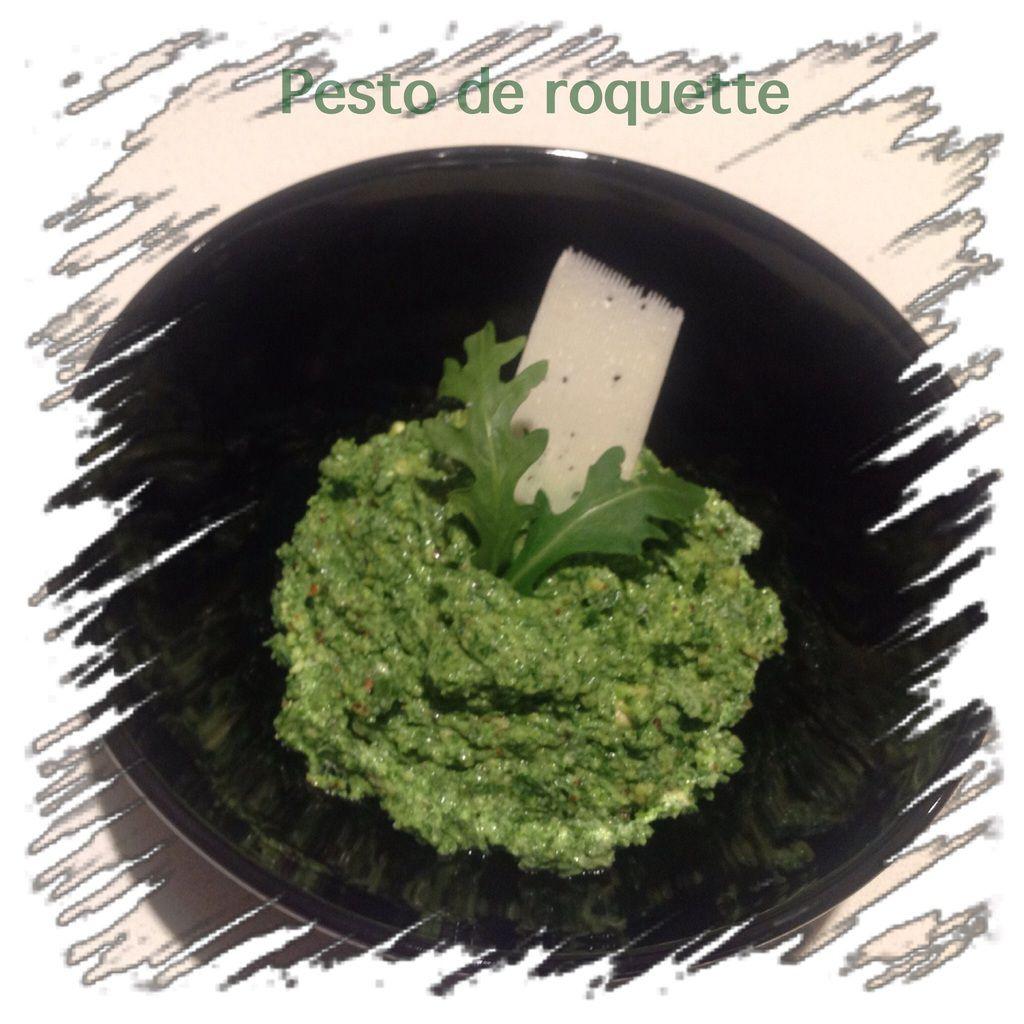 Salade de petit épeautre au pesto de roquette