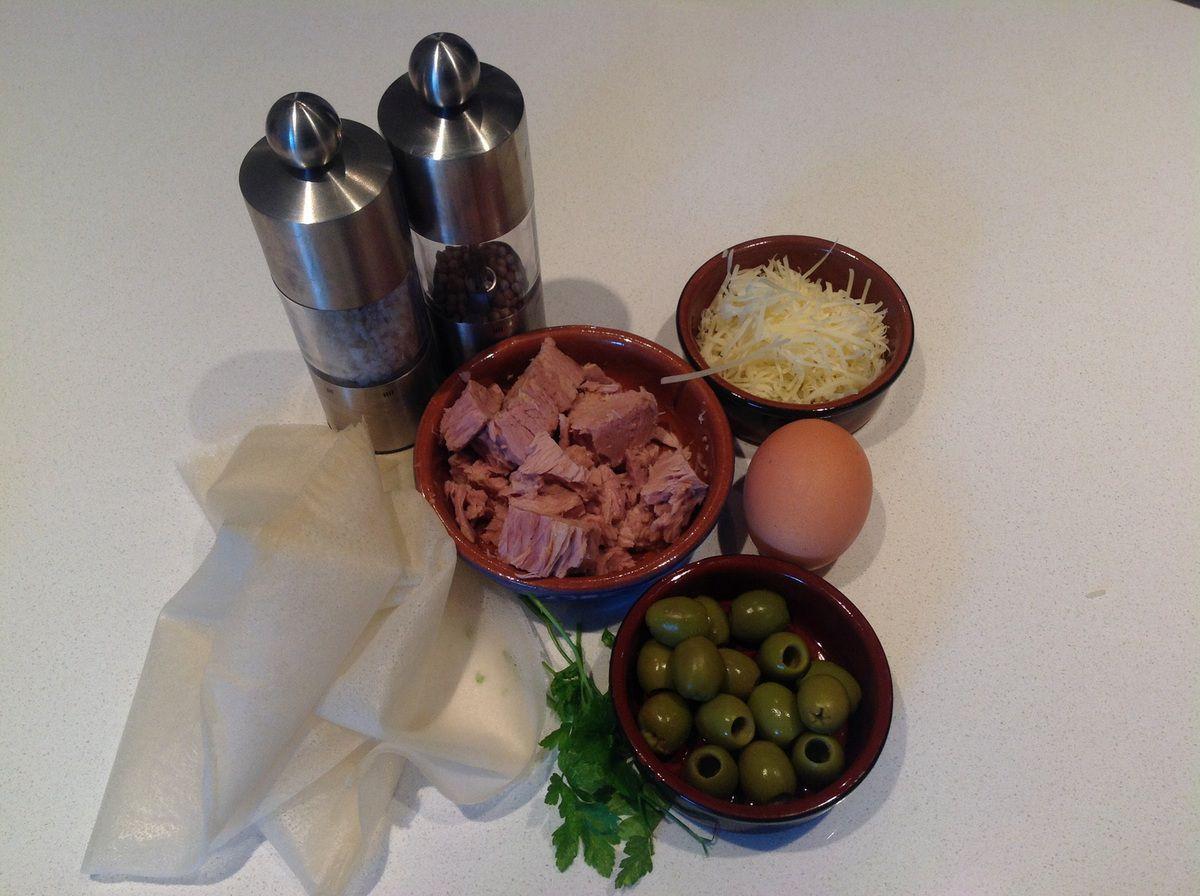 Brick au thon et olives