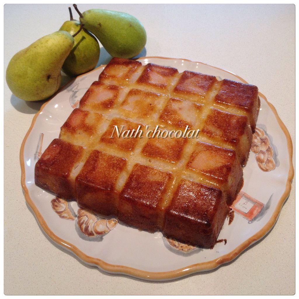 Gâteau poires et amande