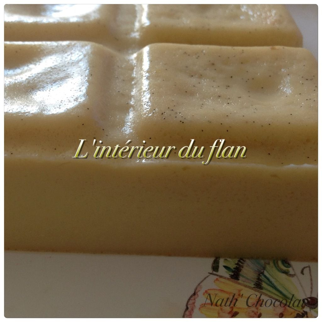 Flan au lait de soja vanille