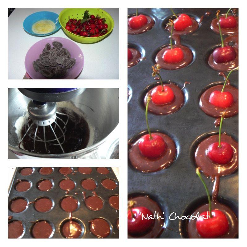 Bouchée chocolat et cerise