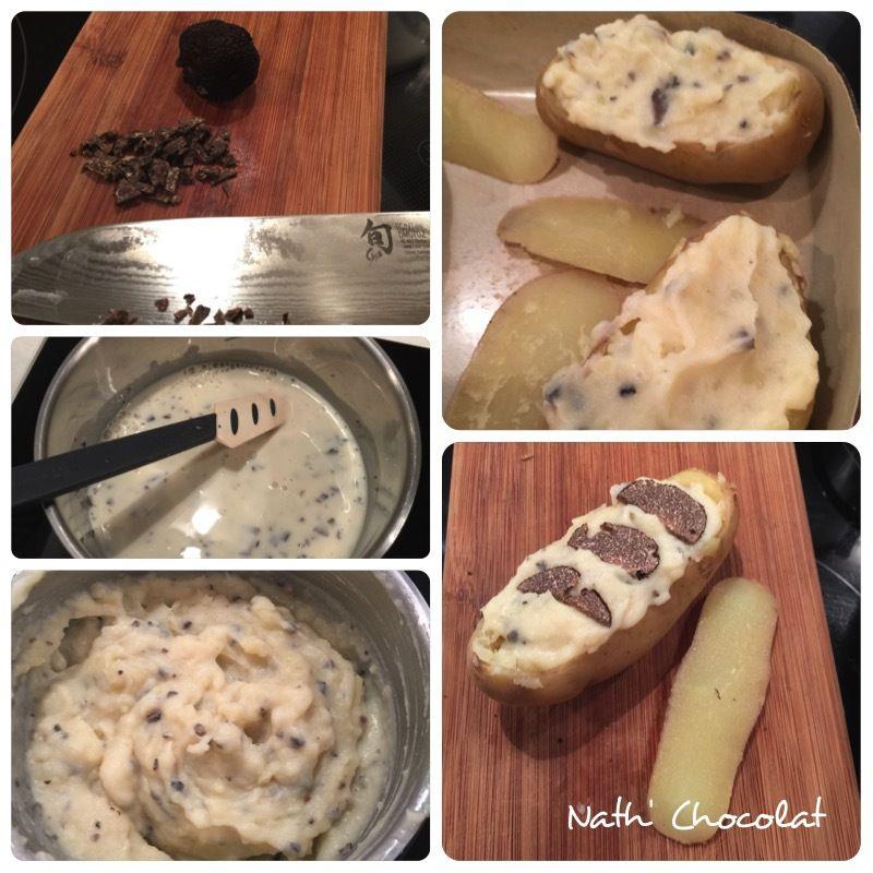 Pommes de terre farcie à la truffe