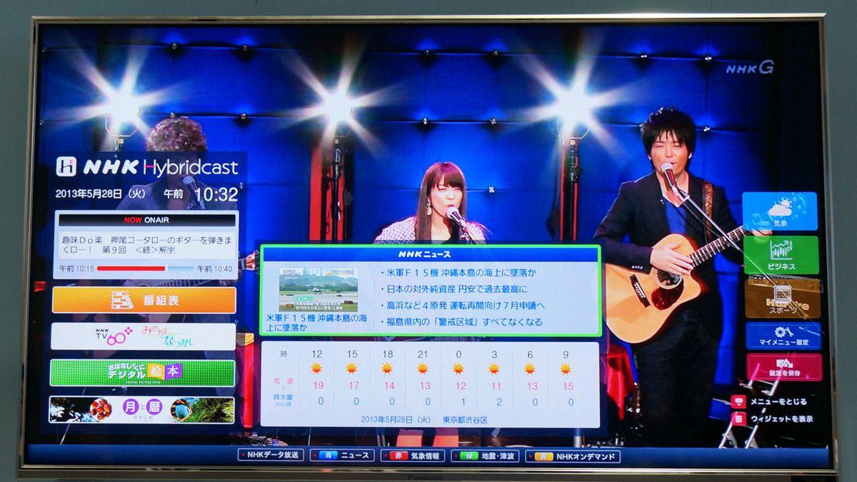 Télévision : Hybridcast sera t-il l'avenir des grands écrans ?