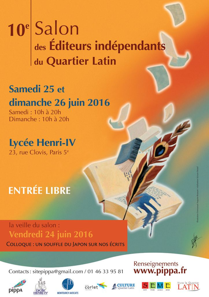 10e Salon des Editeurs Indépendants du Quartier Latin