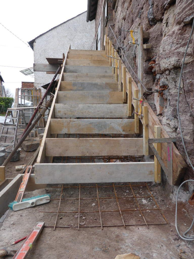 Coffrage escalier beton exterieur 28 images superb for Construction escalier exterieur