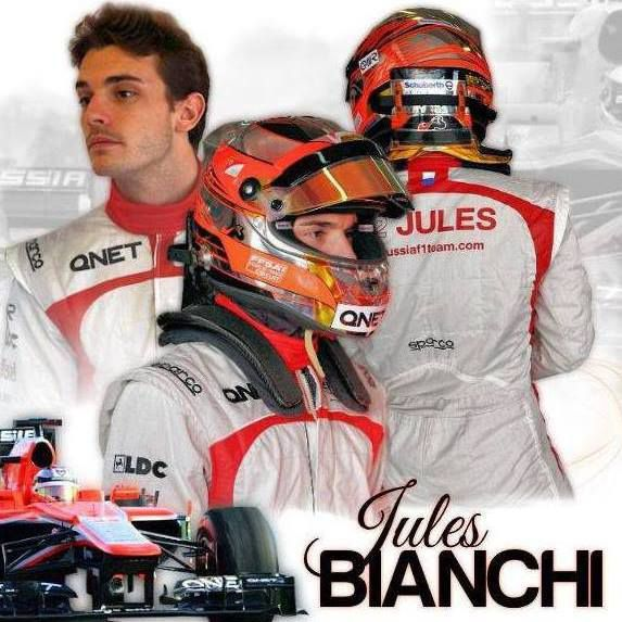 formule 1 jules bianchi est d c d. Black Bedroom Furniture Sets. Home Design Ideas