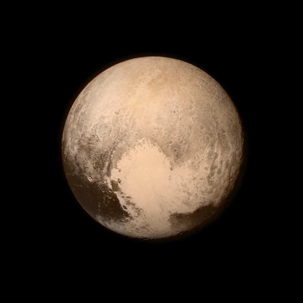 Pluton a enfin un visage
