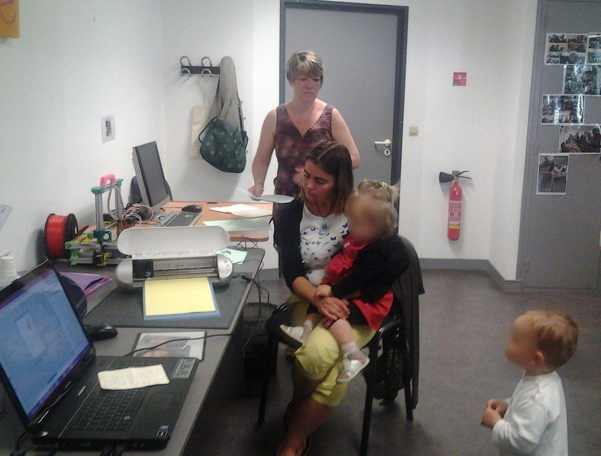 Avec les assistantes maternelles ...