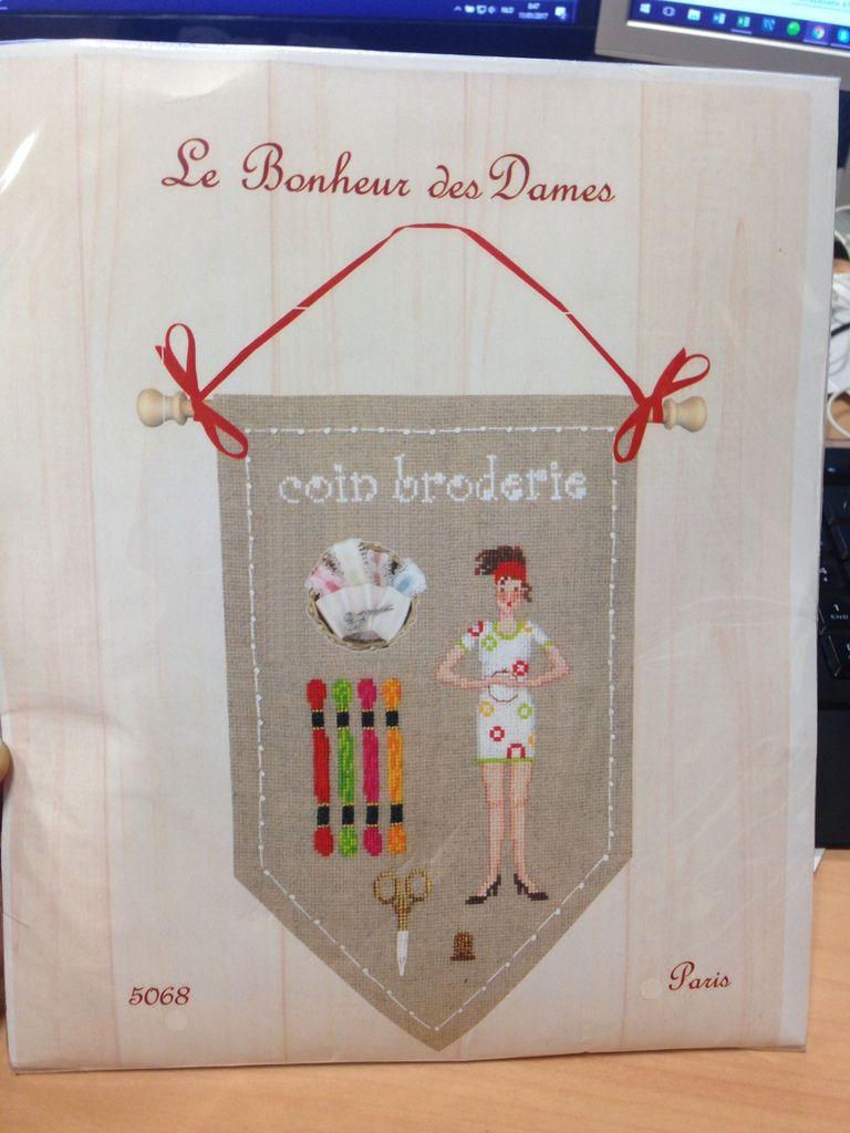 """Coin broderie """"Le Bonheur des Dames"""""""