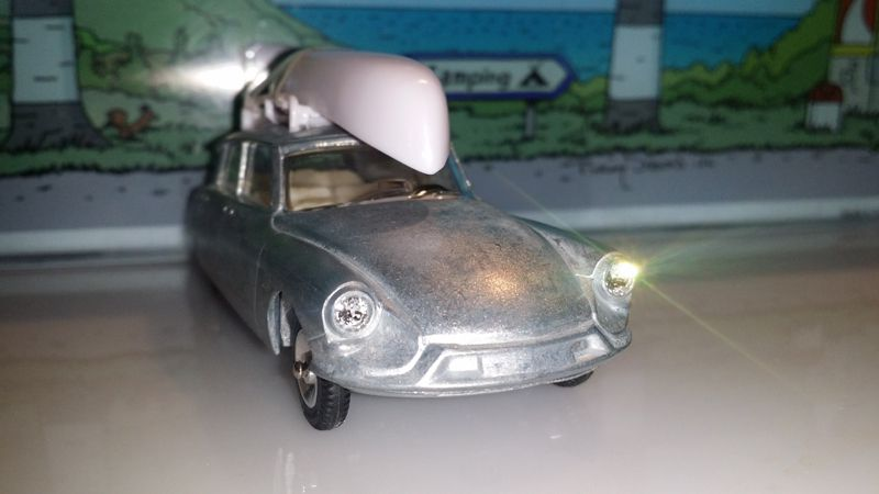 Prototype Citroën DS