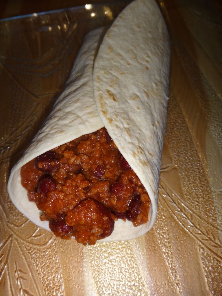 Burritos chili con Carne