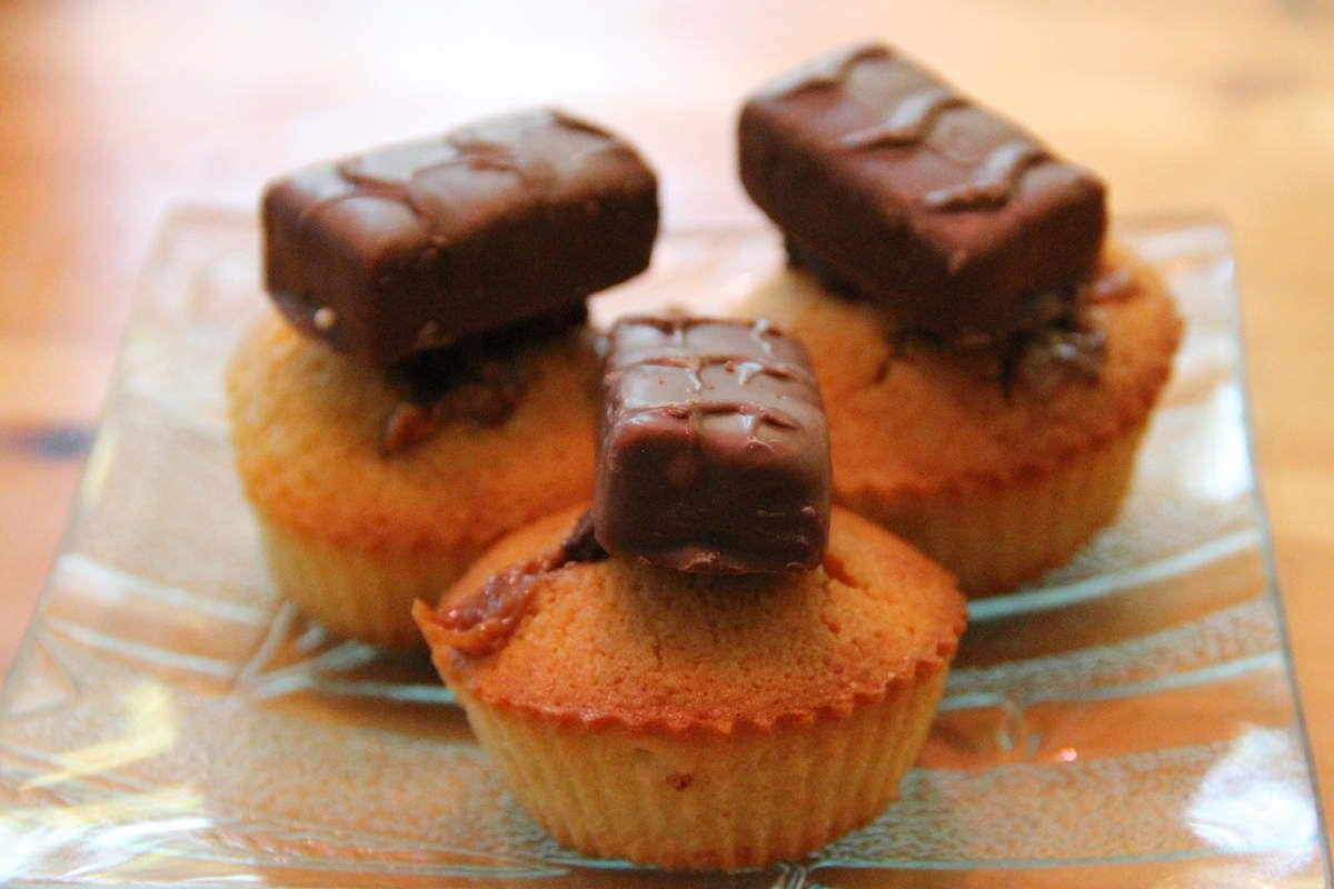 Cupcake Snickers