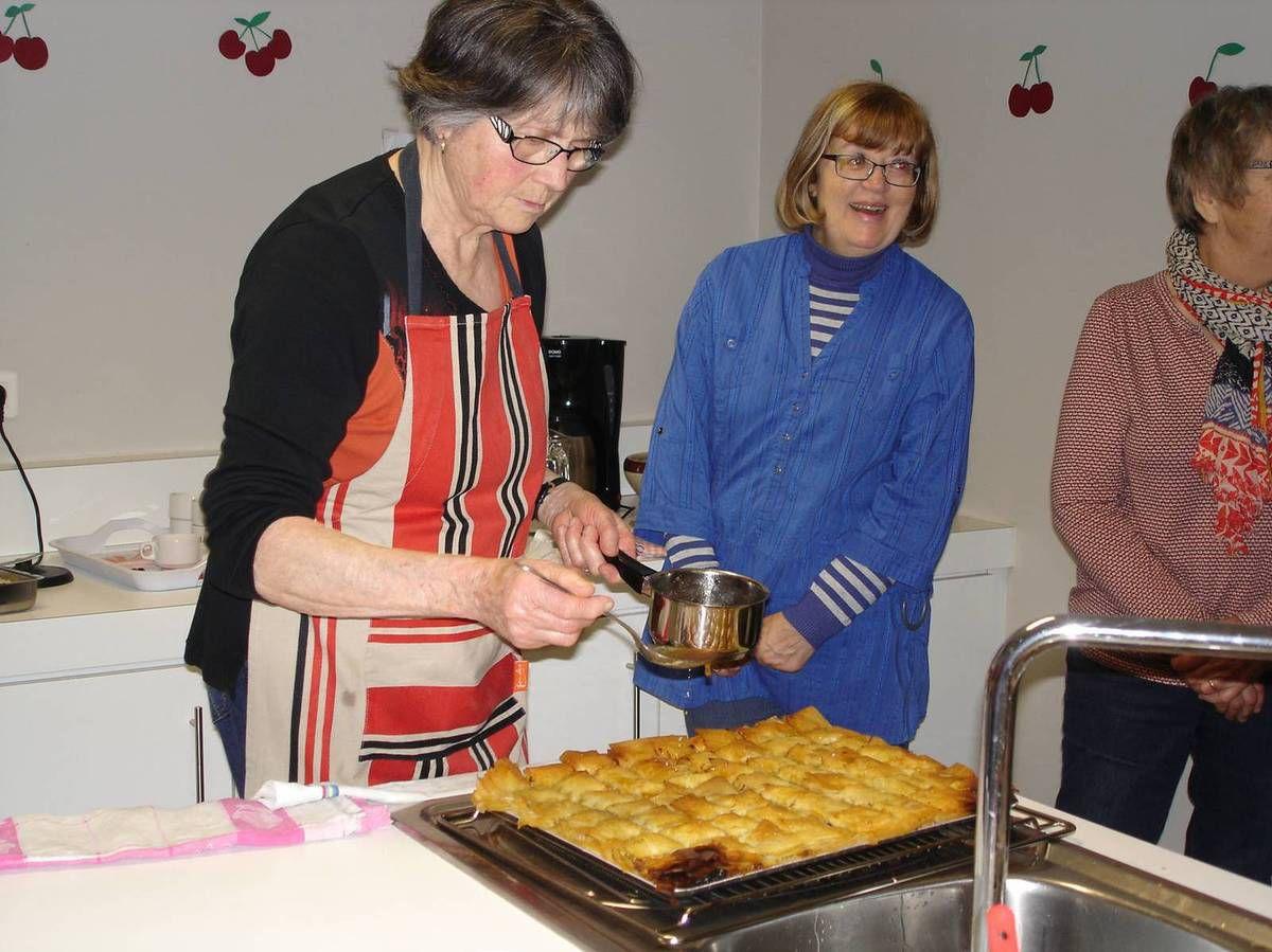 Atelier cuisine du jeudi 1er mars 2016