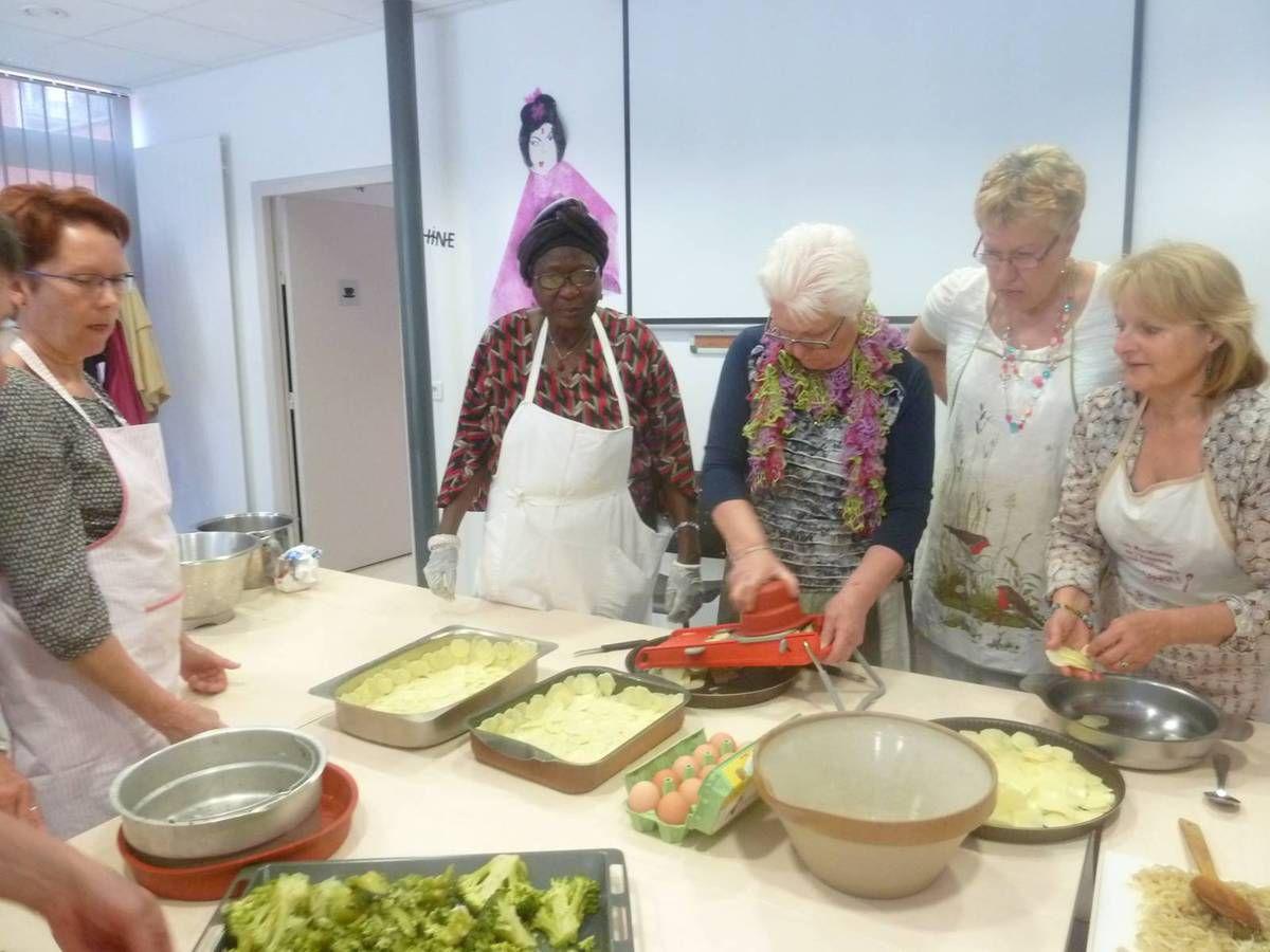 Atelier cuisine: jeudi 26 mai 2016