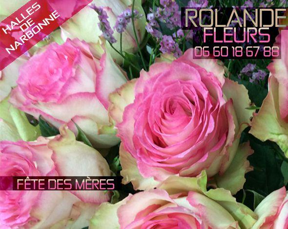 Fête des mères chez Rolande votre fleuriste aux halles de Narbonne 11100 en Languedoc Roussillon