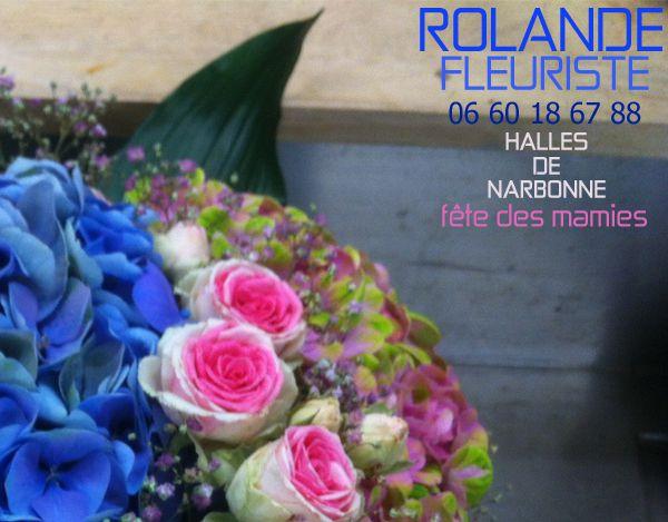 rolande fleuriste halles de Narbonne