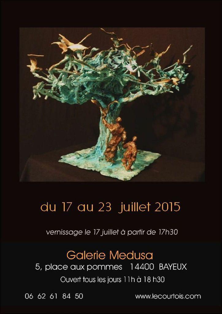 Expo à Gratot, Biénnale de Nolay, Medusa à Bayeux