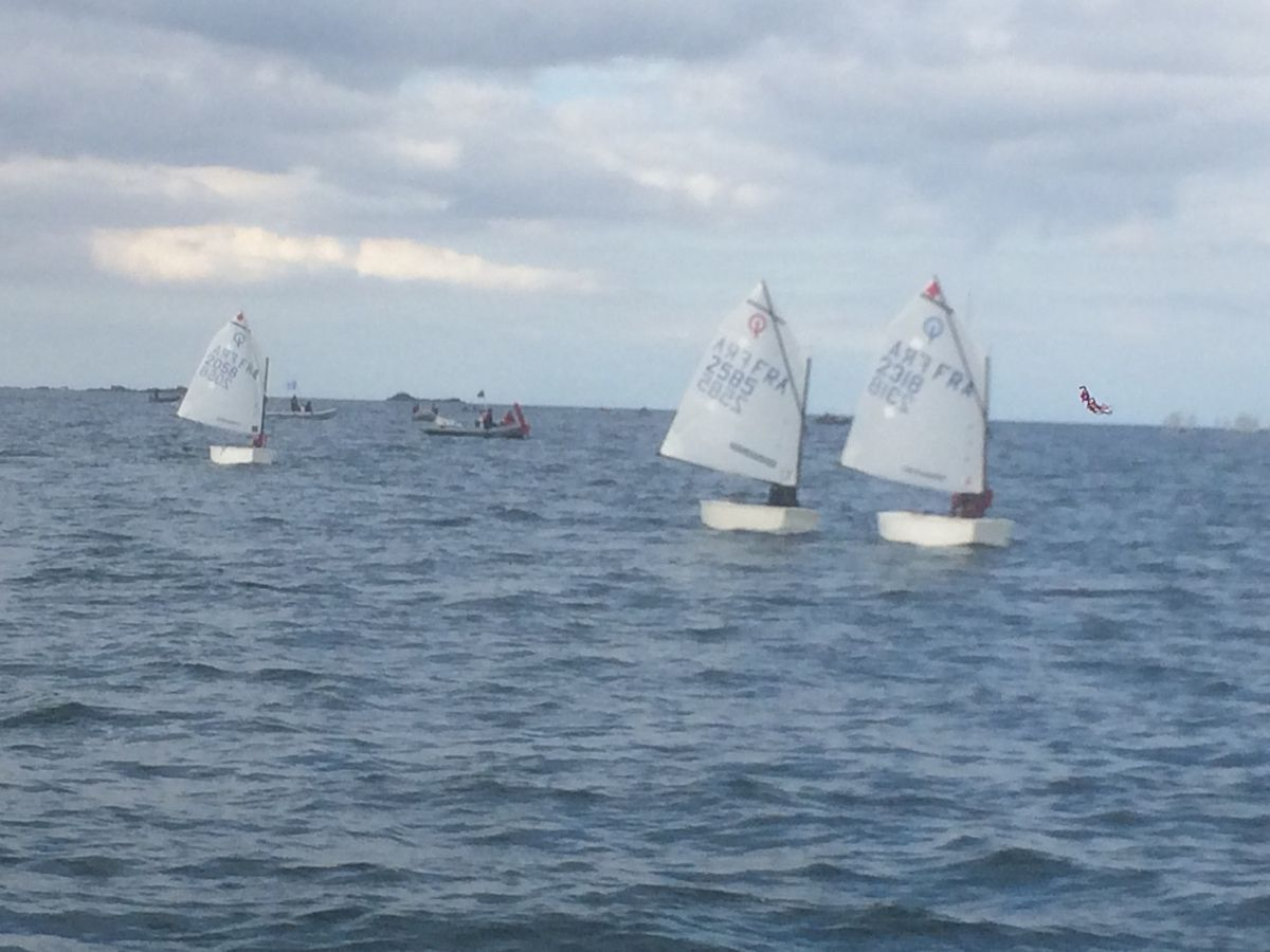Coupe internationale optimist à Maubuisson du 15 au 21 juillet 2017