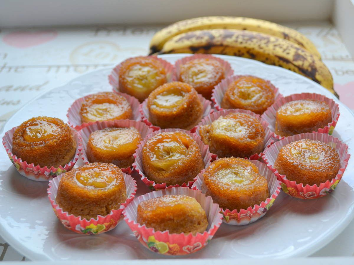 Mini-bouchées à la banane