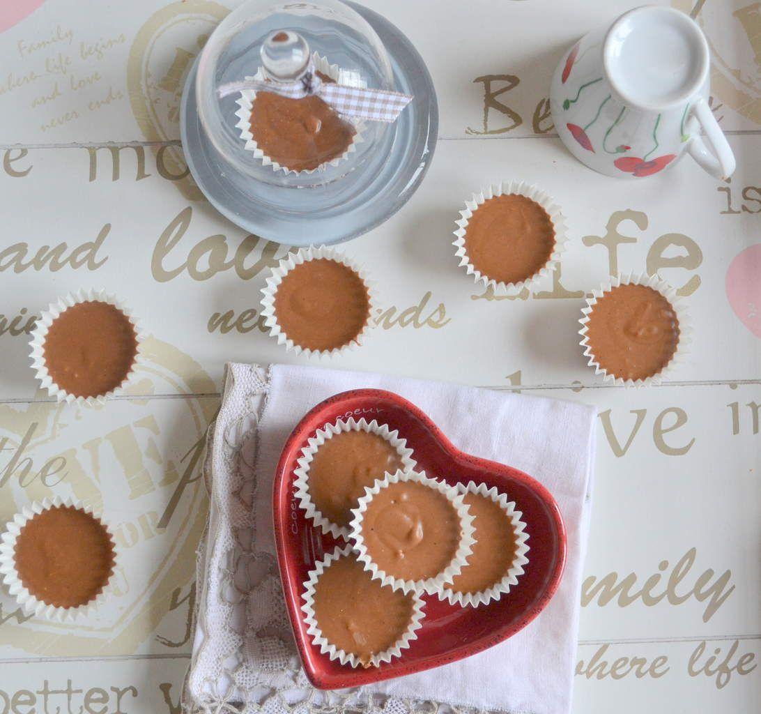 Petites bouchées chocolat-beurre de cacahuètes