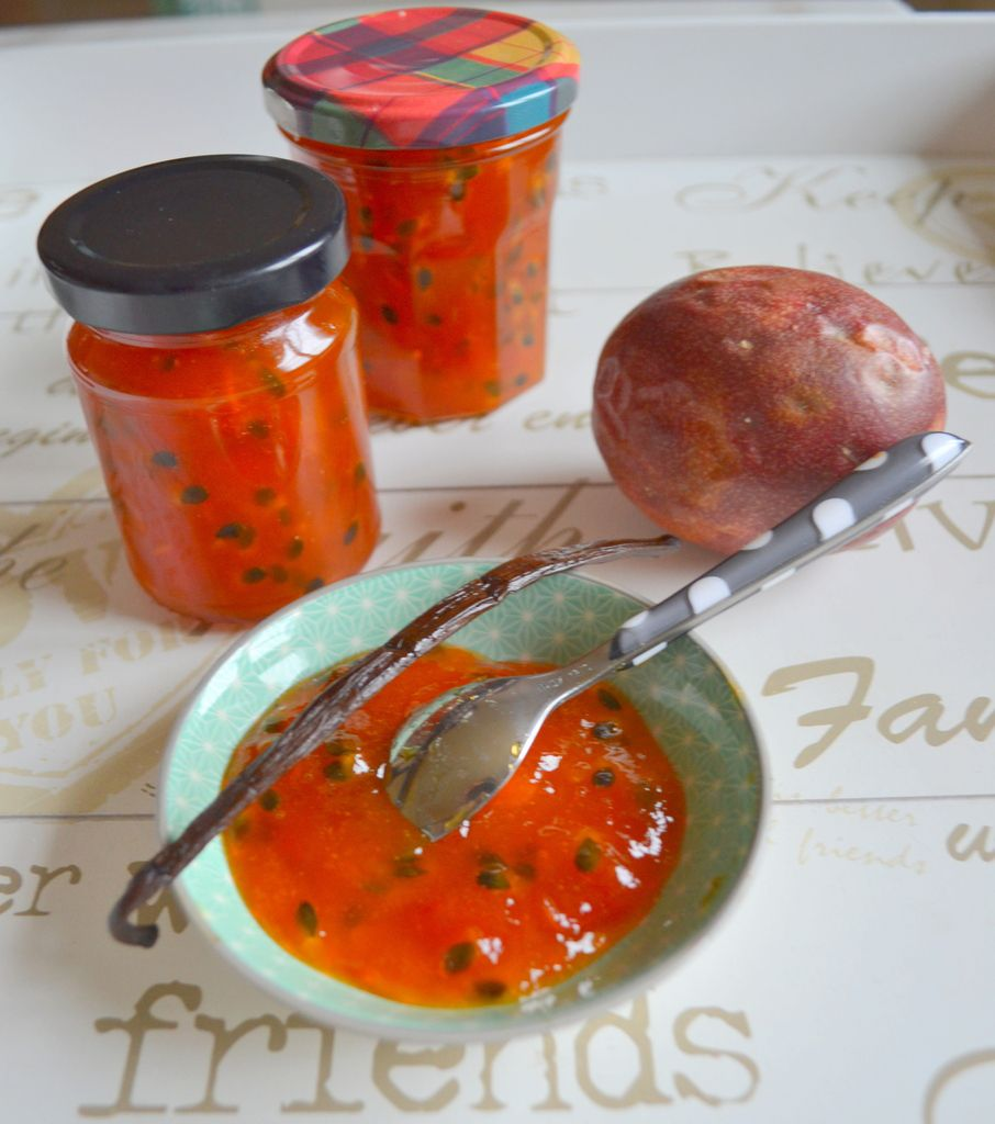Confiture de papaye et fruits de la passion au sucre - Confiture de mures sauvages maison ...