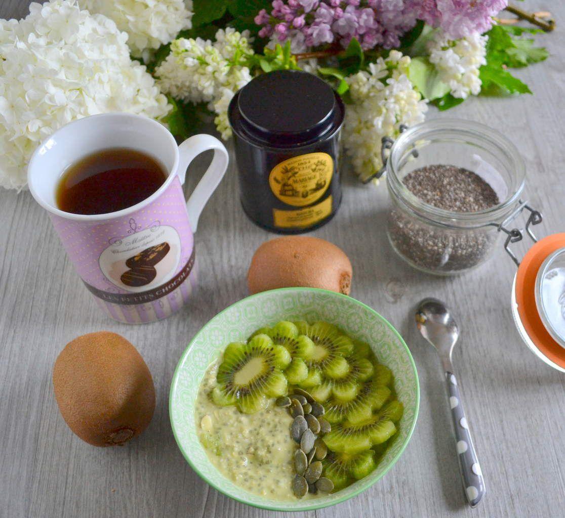 Petit déjeuner tout vert