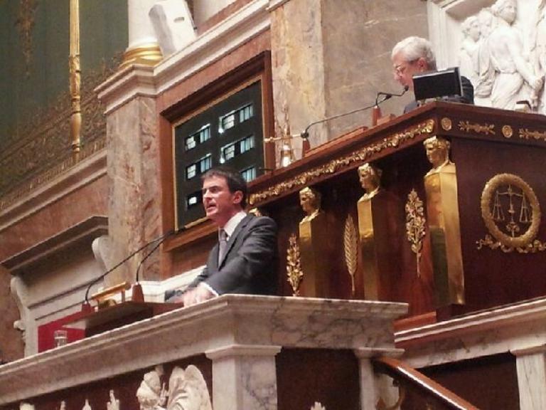 Censure (2) : Valls, le mouvement de la réforme !