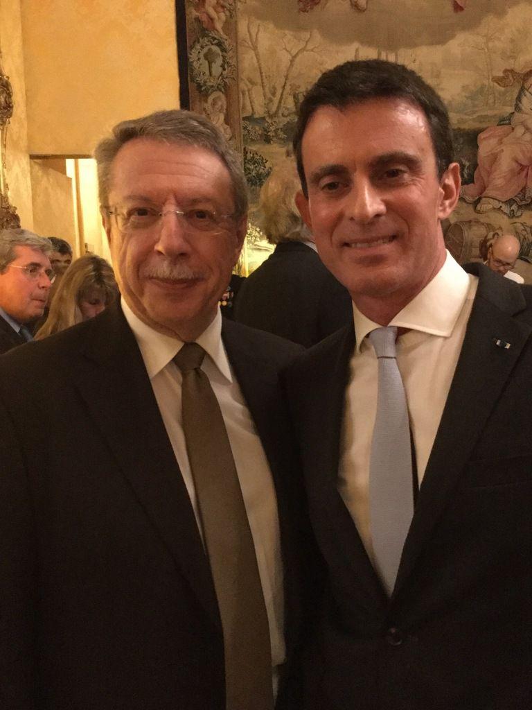 Les voeux du Premier Ministre à Matignon !