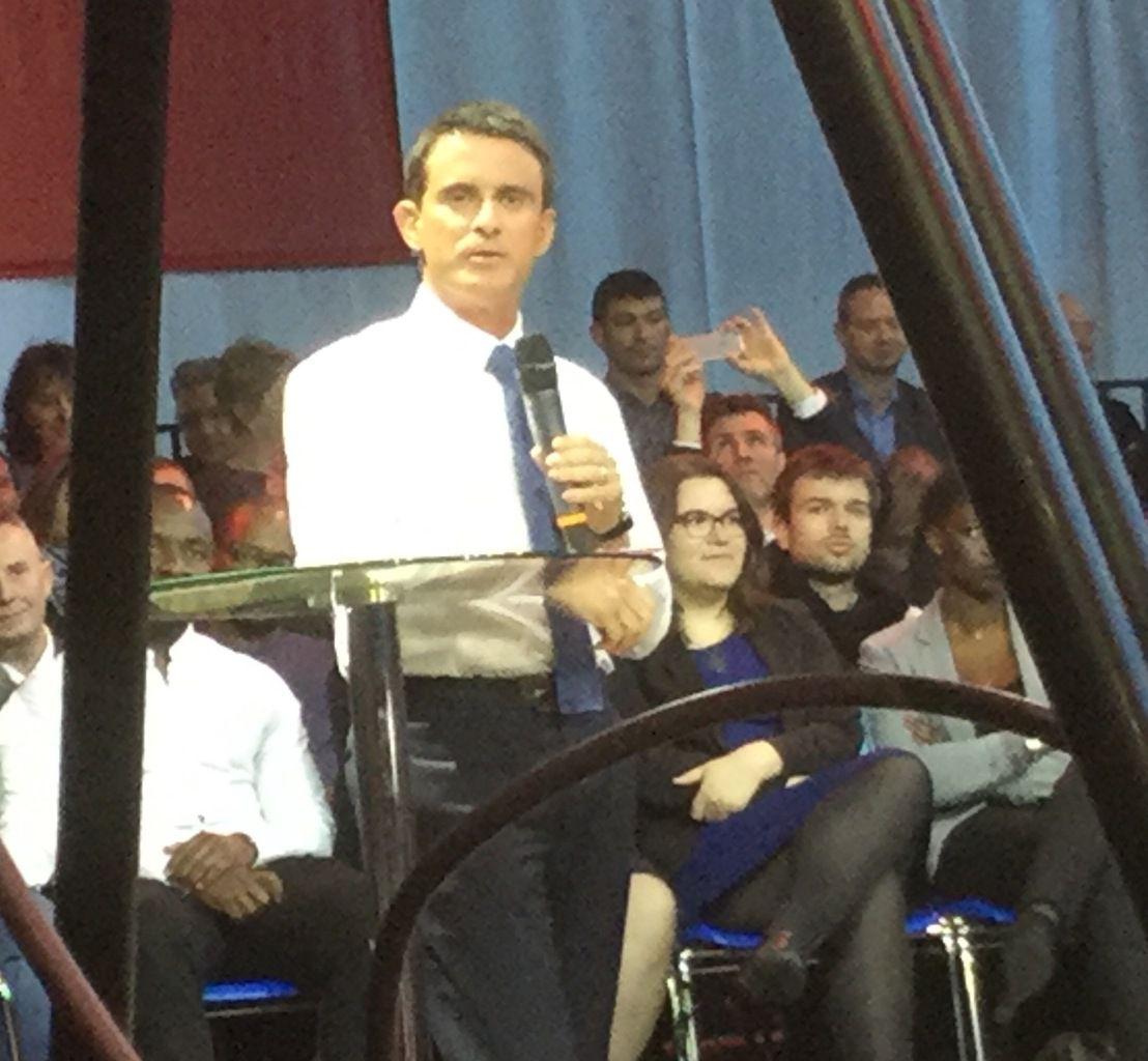 Avec M. Valls à Evry : pour une France confiante, créatrice et fraternelle !