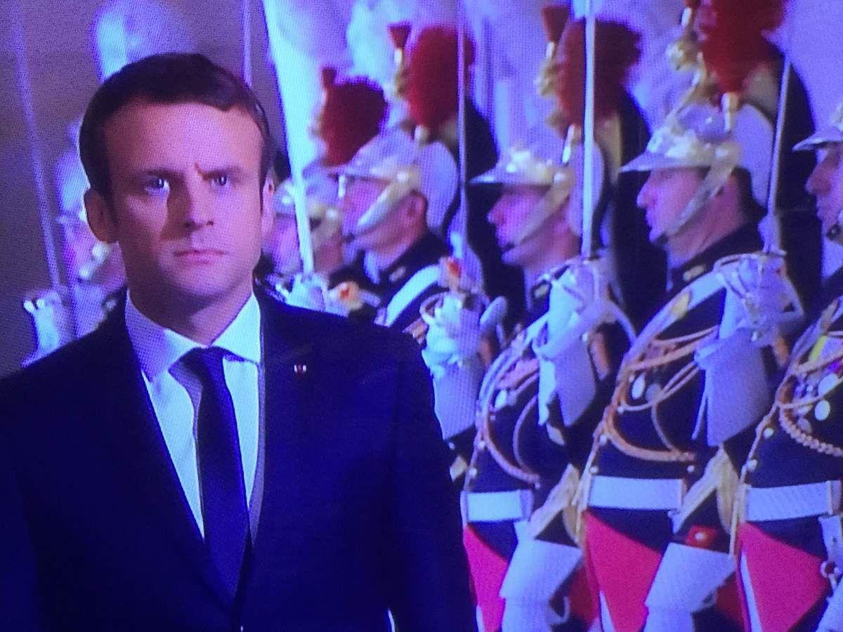 Au Congrès, Emmanuel Macron, en Chef de l'Etat !