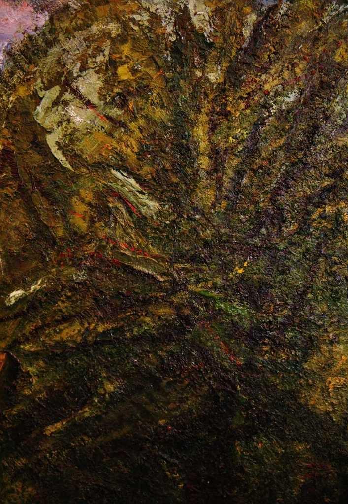 Isaac Celniker (1923-2011), l'arbre, huile sur toile, signée