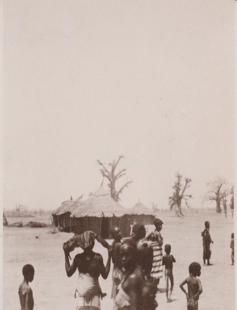 Soudan, la case, 1928