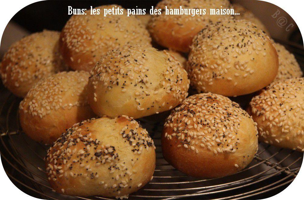La recette des buns, car il était temps que je fasse aussi les pains de nos hamburgers!