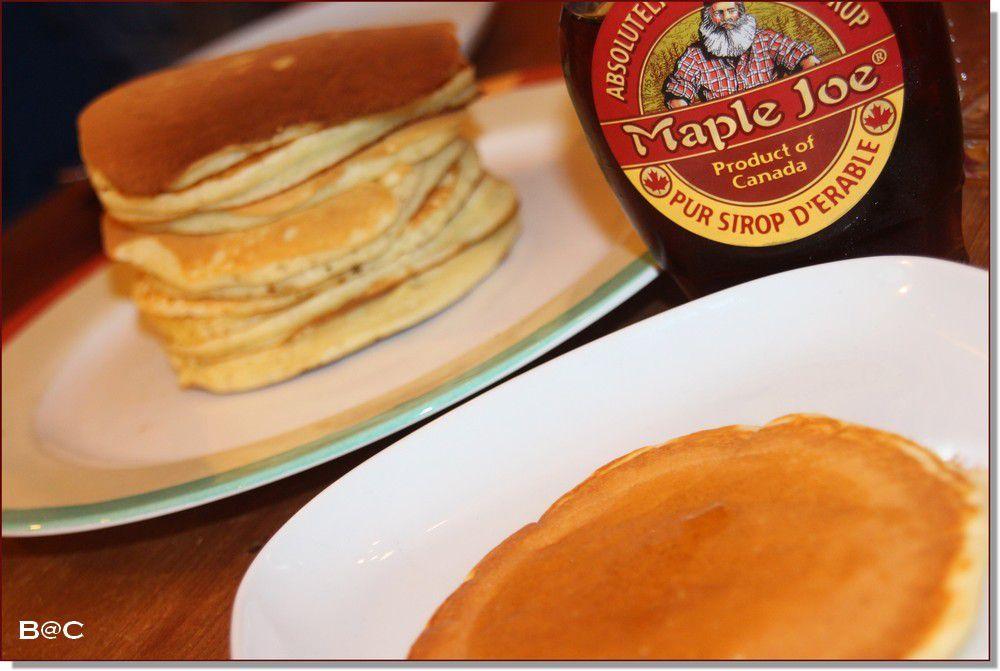 Les pancakes au lait ribot, les &quot&#x3B;perfect pancakes&quot&#x3B;, pour changer des classiques crêpes à la chandeleur...