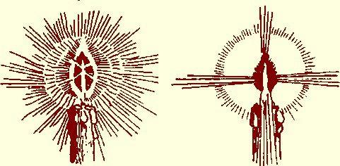 Voyez-vous la Rose et la Croix dans une Bougie ?