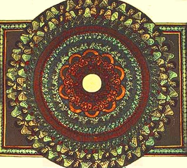 Le Mandala d'Hildegarde