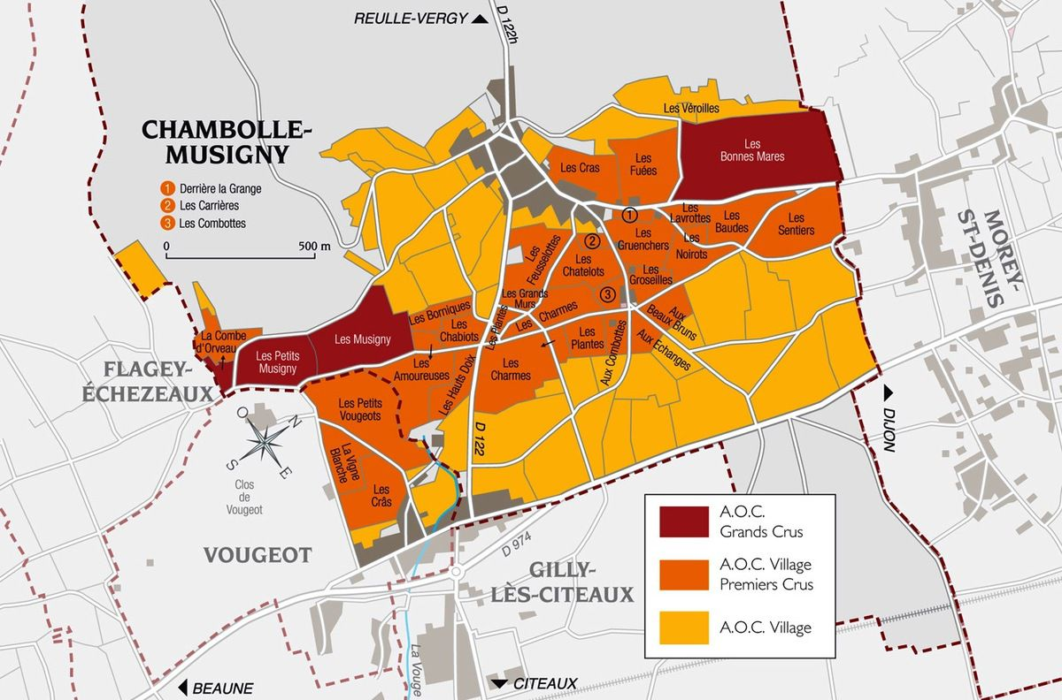 Appellation Chambolle-Musigny