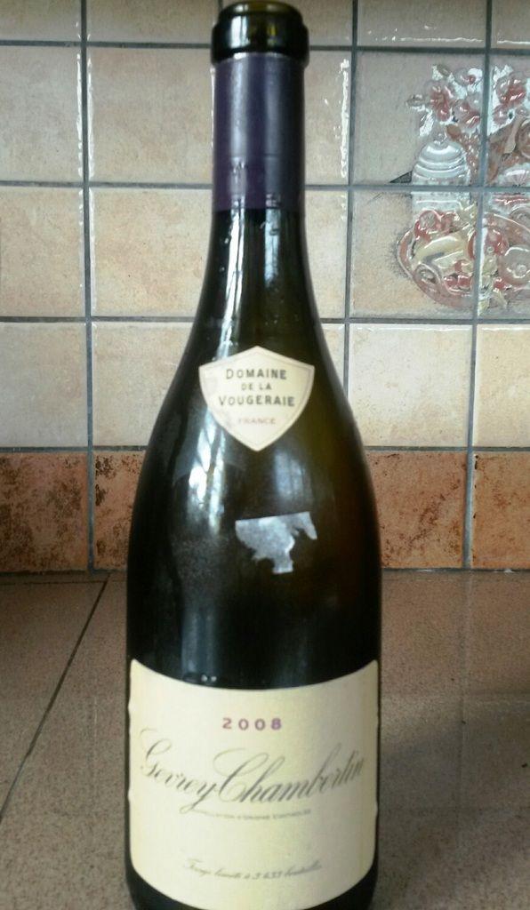 « Gevrey-Chambertin 2008 - Domaine de la Vougeraie »