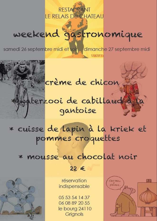 Les menus gourmands du week-end pour la fête de la gastronomie !