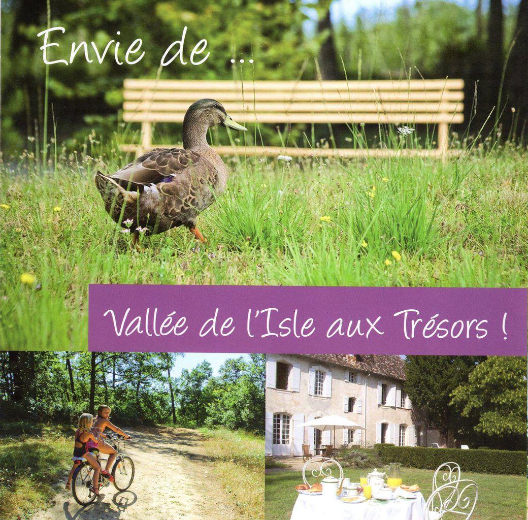 Dépliant d'appel de la Vallée de l'Isle édition 2016.