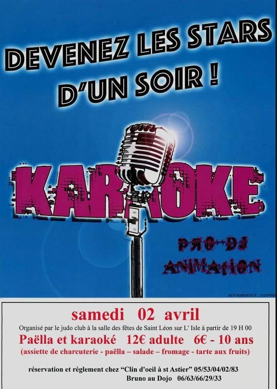 soirée karaoké St léon