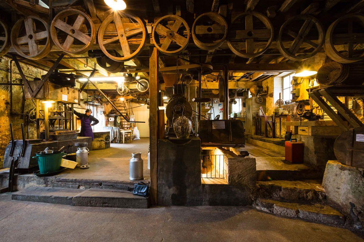le moulin de la Veyssière à Neuvic
