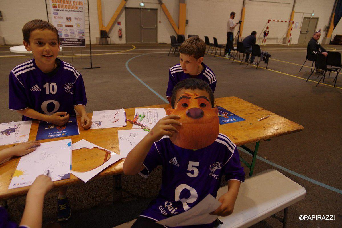 en présence de ROK , une super journée pour les tous jeunes joueuses et joueurs Cornouaillais , merci aux organisateurs !!!!!