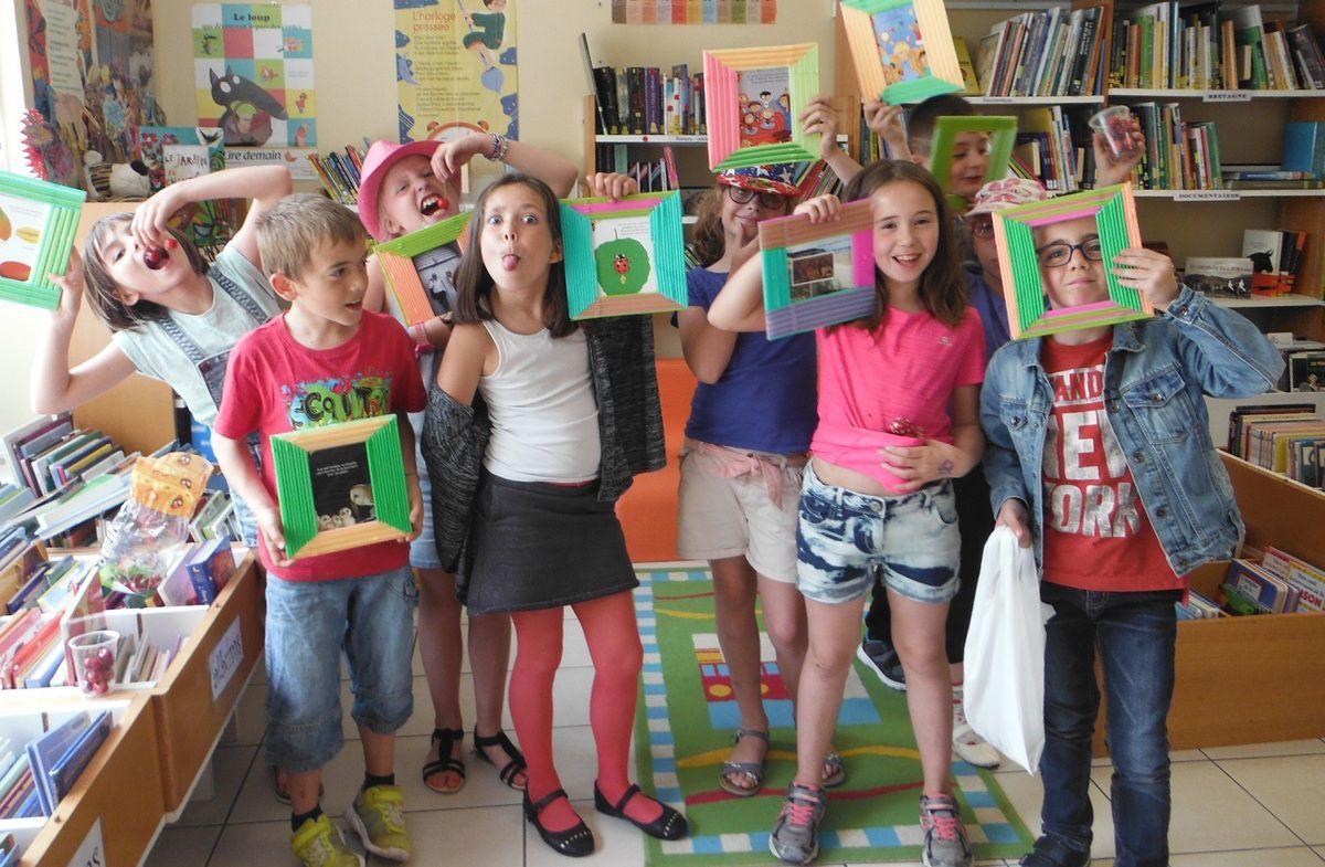 Fabriquer un cadre la biblioth que municipale de plessala - Fabriquer bibliotheque enfant ...