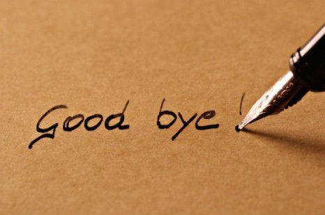 Good bye.